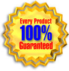 Every Novatech Dampening Product is 100% Guaranteed